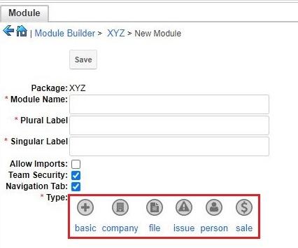 create custom module