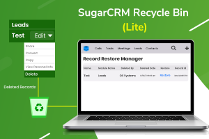 SugarCRM Recycle Bin Manager
