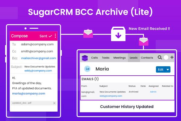 SugarCRM BCC Archive (Lite)