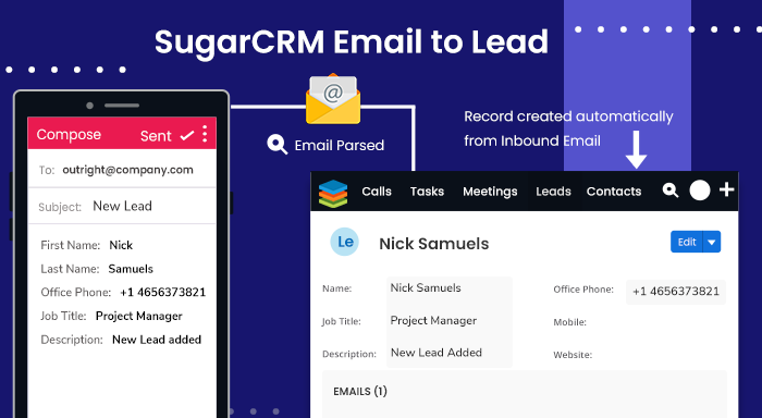 Email to Lead