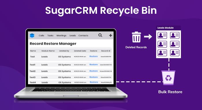 SugarCRM Recycle Bin