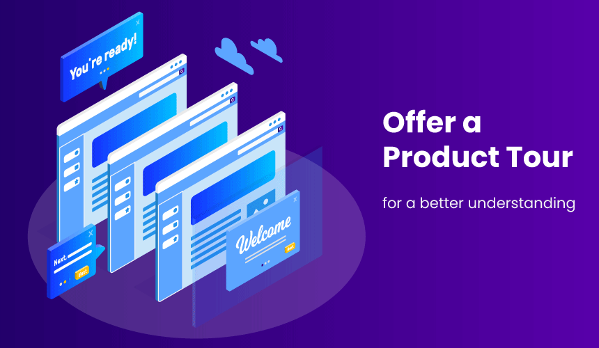 offer product tour