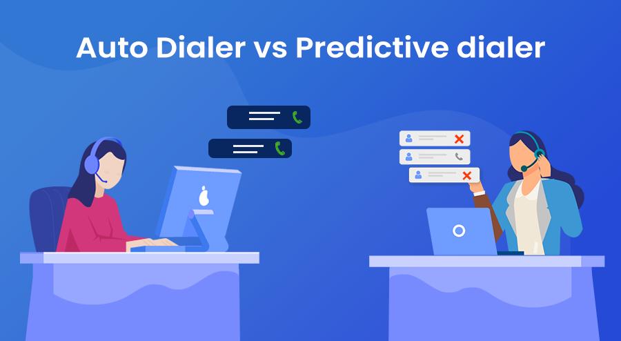 Auto dialer vs Predictive dialer